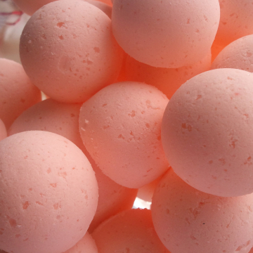 14 bath bombs in Orange essential oil 100% natural bath bomb fizzies with shea & cocoa butter