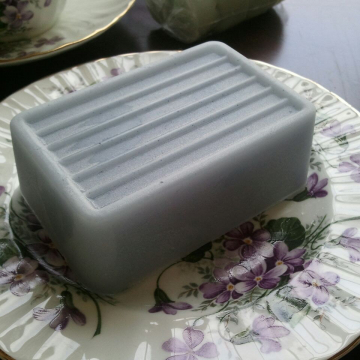 Plumeria Handmade Gift Soaps LARGE ultra-rich Shea and Cocoa butter goats milk, 6 oz each