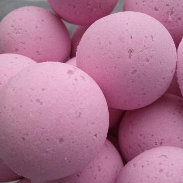 14 bath bombs in Black Raspberry Vanilla fragrance, gift bag bath fizzies, great for dry skin, shea, cocoa, 7 ultra rich oils
