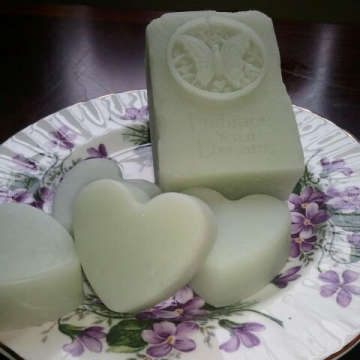 Handmade Gift Soaps Angel by Spa Girl  4 oz each ultra-rich Shea and Cocoa butter goats milk with Kaolin Clay